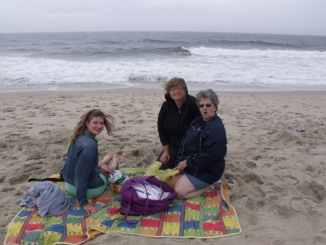 A cold day at the beach!