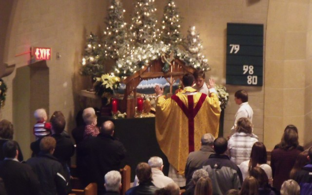 Fr. Craig Timmerman St. Leo Church Nativity