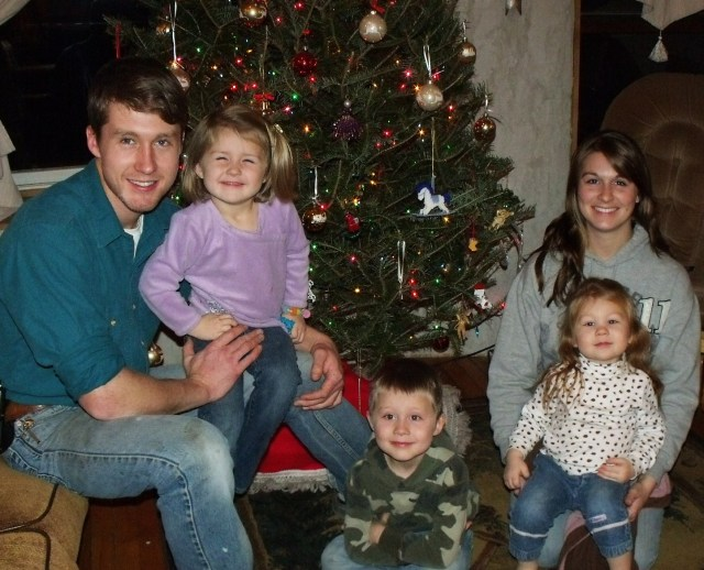 Our Daughter Jessica, her husband Luke and children Maura, Cael and Anya Dougherty!