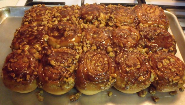 Carmel rolls also made by Frenchy.  You show up here you may end up cooking or baking something too:)