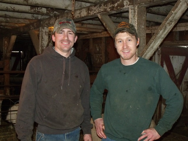 Clayton Callens and Luke Dougherty.......my favorite and THE BEST shearers!