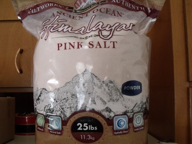 Yummy Himalayan Sea Salt helps make our food delicous with added trace minerals.  From Salt Works............