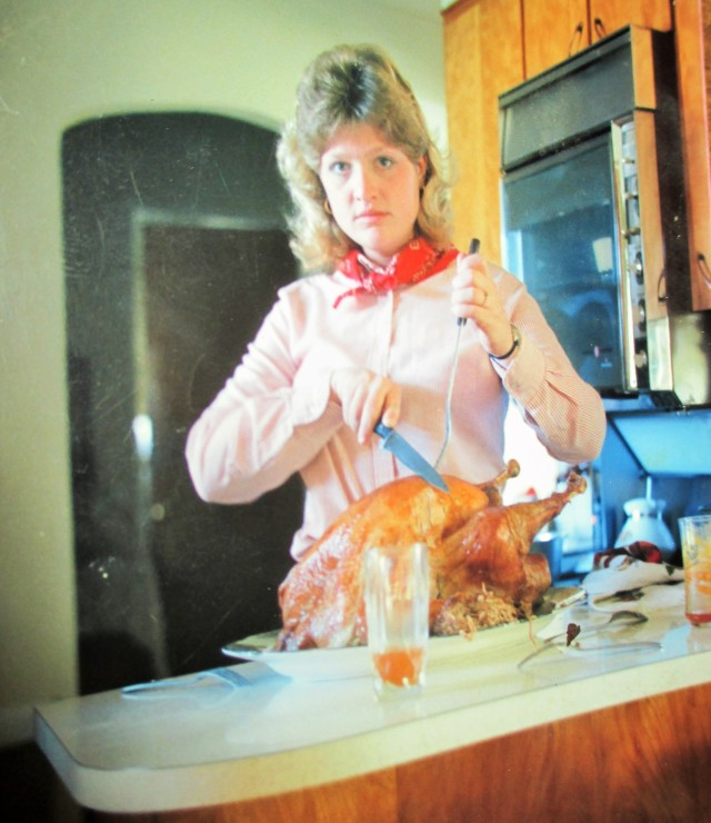Happy Thanksgiving....blast from the past.  Before I married Fred !