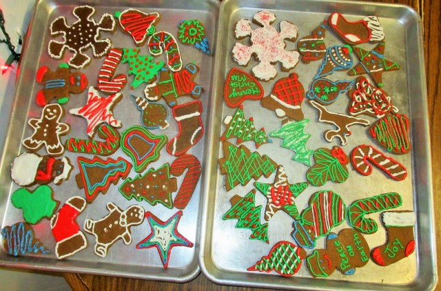 Ginger bread cookies will taste delicious with a good cup of coffee or cocoa.